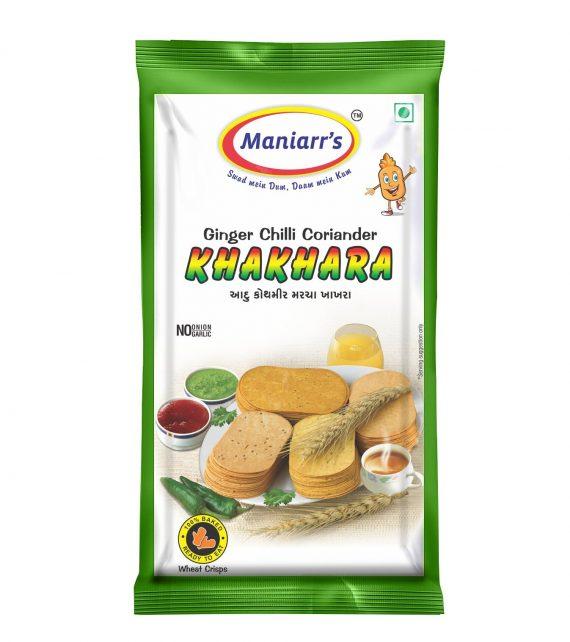 Maniarrs Gujarati Cuisine - Mix Flavour Combo Khakhra 16 Flavors In 16 Packs, 360 Grams (A1+A4) - DeoDap