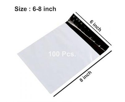0927 Tamper Proof Polybag Pouches Cover for Shipping Packing (Size 6 x 8) - DeoDap