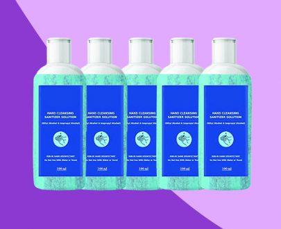 1262 Sanitizer for Cleaning Hands & Equipment Sterilization (100ml) - DeoDap