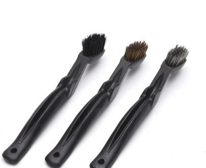 1516 Wire Brush Set Scratch Brush Set for Cleaning Slag Rust and Dust Curved Handle - DeoDap