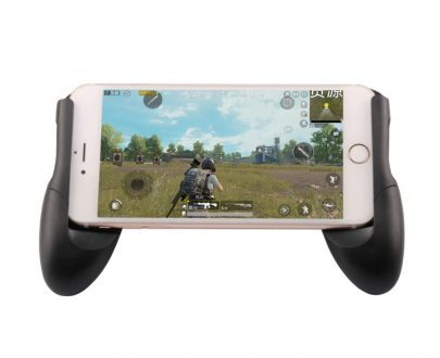 1527 Mobile Remote Controller Gamepad Holder Handle Joystick - DeoDap