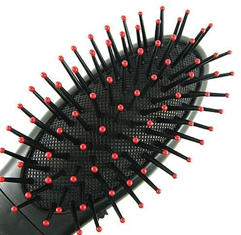 1301 2In1 Head Massager Hairbrush For Treatment of Hair - DeoDap