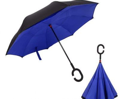 0233 Travel Windproof Umbrella (Reverse Umbrella) - DeoDap