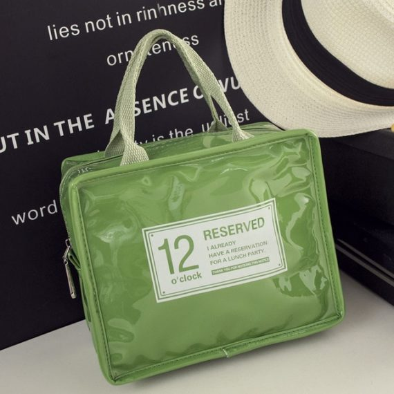 12o'clock Fashion Insulated Lunch Bag (Green)