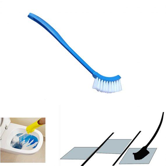 1291 Single Sided Bristle Plastic Toilet Cleaning Brush - DeoDap