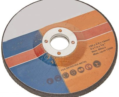 "0448 Metal/Stainless Steel  Grinding  Wheel 4"" (100 x 6 x 16 mm) - DeoDap"