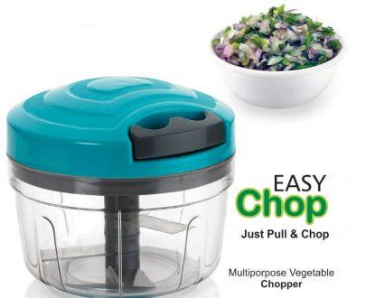 0753_Manual Food Chopper, Compact & Powerful Hand Held Vegetable Chopper/Blender - DeoDap