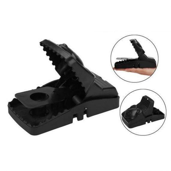 0211 Reusable Plastic Portable Rat Traps (Rat Snap Trap) - 1 pc - DeoDap