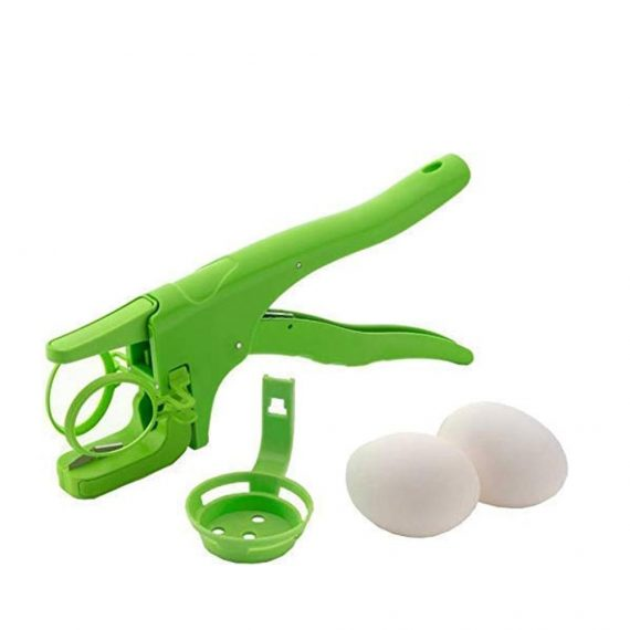 0109 Plastic Handheld Egg Cracker with Separator - DeoDap