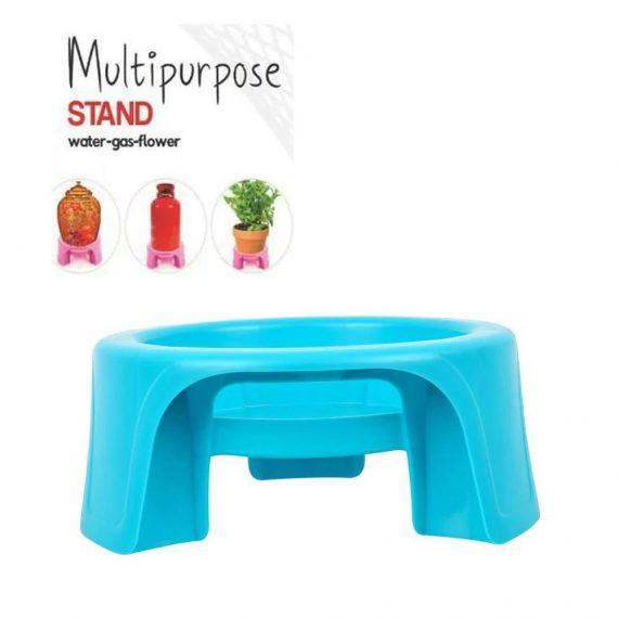 0732 Multipurpose Unbreakable Plastic Matka Stand/Pot Stand - DeoDap