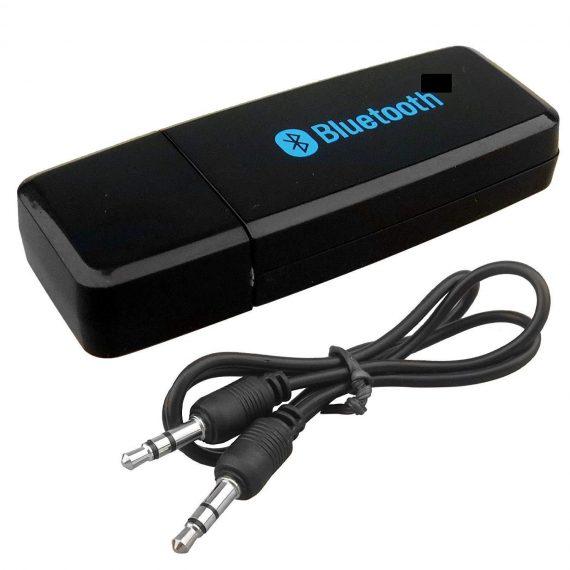 0531 USB Wireless/Bluetooth 3.5mm Aux Audio Receiver Adapter - DeoDap