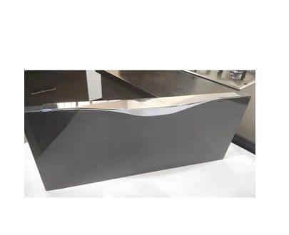 0481_Aluminium Profile Handle, 8Inch (Silver) - DeoDap