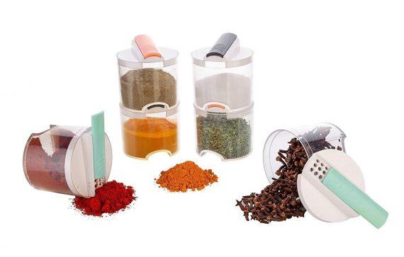 0061 Spice bottle 6pcs - DeoDap