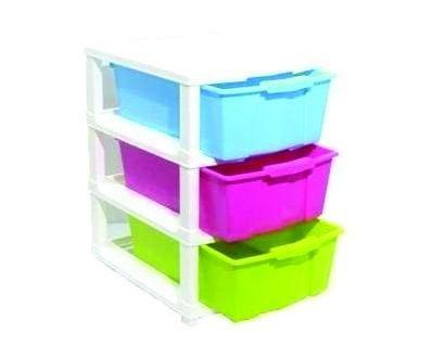 0767 Multipurpose Modular Drawer Organizer Storage Box - 3 Layers - DeoDap
