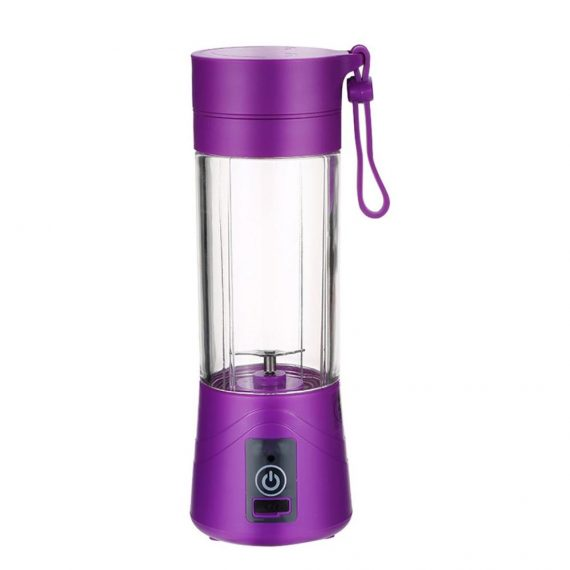 0121 Portable USB Electric Juicer - 2 Blades (Protein Shaker) - DeoDap
