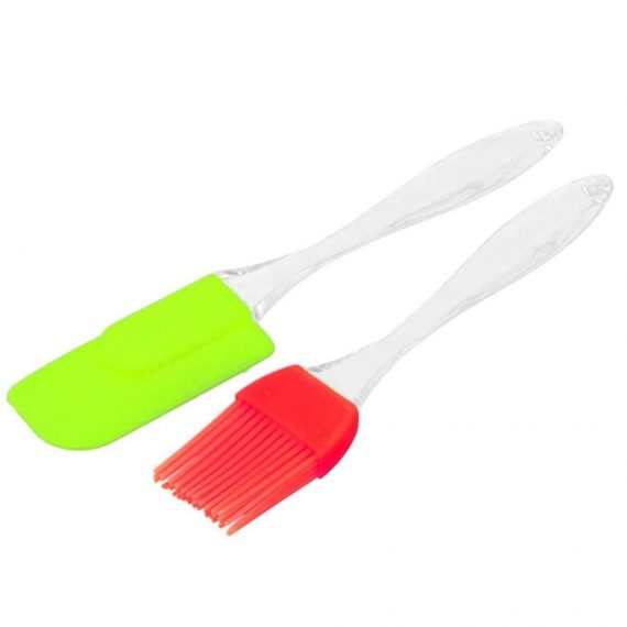 0136 Spatula and Pastry Brush for Cake Mixer - DeoDap