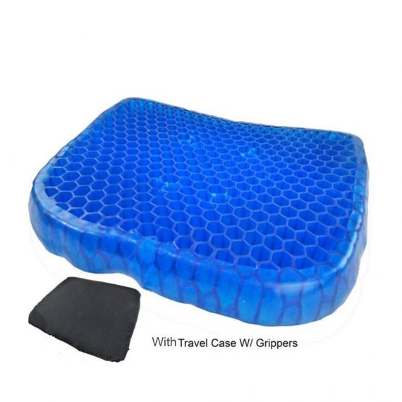 0219 Cushion Seat Flex Pillow, Gel Orthopedic Seat Cushion Pad (Egg Sitter) - DeoDap