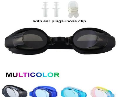 0399 Silicone Material Swimming Goggles - DeoDap