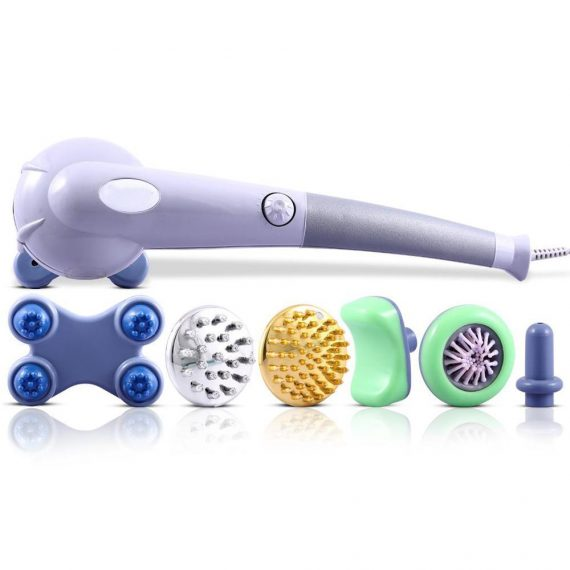 0401 Magic Massager Pain Relief & Fat Reduction Joint with 7 attachment - DeoDap