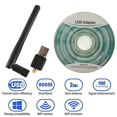 0321 Wireless Wifi Adapter (USB wifi Antenna 5dB 150mbps) - DeoDap