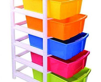 0769 Multipurpose Modular Drawer Organizer Storage Box - 5 Layers - DeoDap
