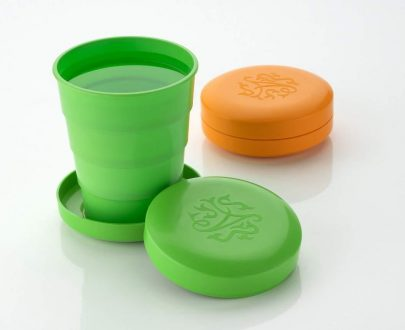 0659 Portable Travelling Cup/Tumbler With Lid - DeoDap
