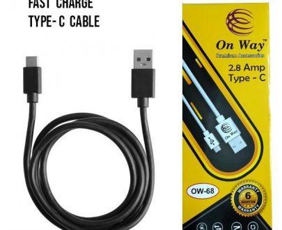 0310 Regular USB Type-C Cable 2.8 Amp Fast Charging Cabel - DeoDap