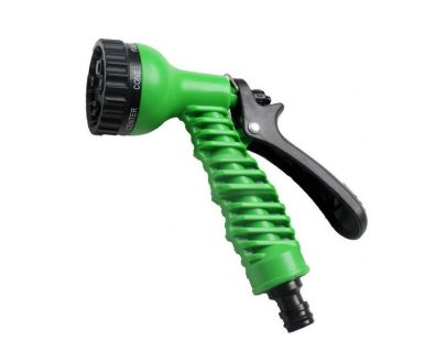 0477 Plastic Garden Hose Nozzle Water Spray Gun Connector Tap Adapter Set - DeoDap