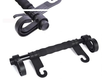 0331 Multi-purpose Chair Back Long Handle Double Hook - DeoDap