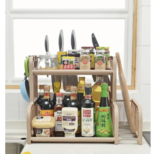 2 Layer Kitchen Storage Rack