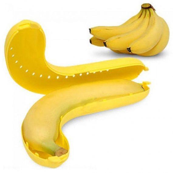 0123 Banana Case Lunch Box Yellow - DeoDap