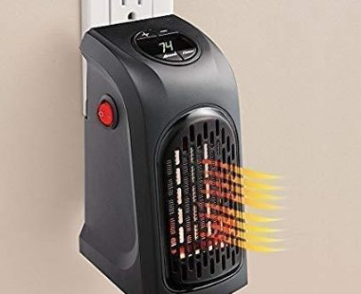 0251 Electric Mini Handy Heater Plug-In Wall (400w) - DeoDap