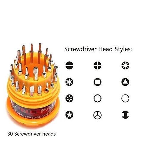 0461 Magnetic 31 in 1 Repairing Screw Driver Tool Set Kit - DeoDap