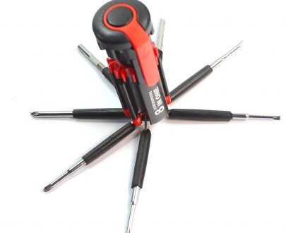 0427 08 in 1 Multi-Function Screwdriver Kit with LED Portable Torch - DeoDap