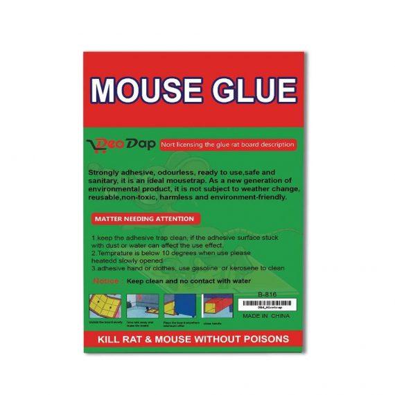 0204 Green Mice Glue Traps (1pc) - DeoDap