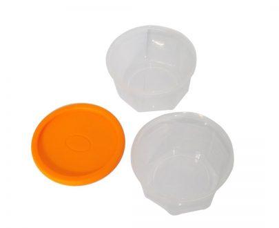0171 Plastic Container Set, 200ml, Set of 6 - DeoDap