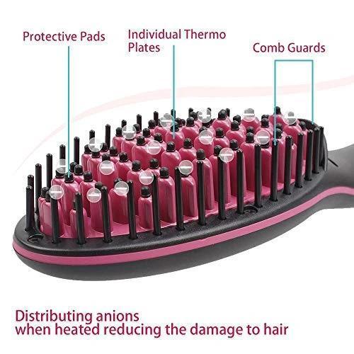 0376 Simply Ceramic Hair Straightener - DeoDap