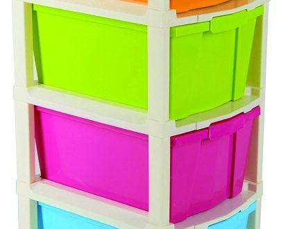 0768 Multipurpose Modular Drawer Organizer Storage Box - 4 Layers - DeoDap