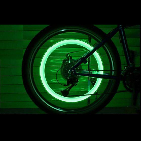 0543 LED Flash Light lamp tyre Wheel Valve Sealing caps - DeoDap