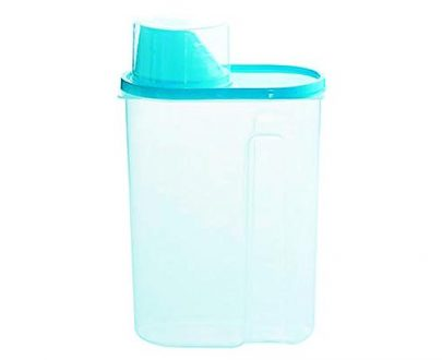 0603 Cereal Storage Container With Measuring Cup For Kitchen Storage (3 units) - DeoDap