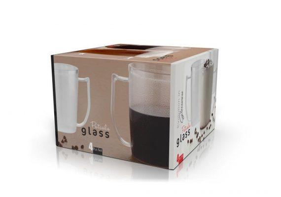 0629 Stylish look Patiala Glass, Transparent Glasses - DeoDap