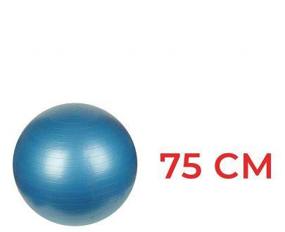 0580 Anti-Burst Gym Ball with Pump (75 cm) - DeoDap