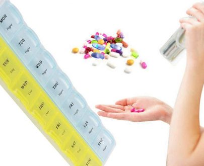 0373 28 Days Medicine Pill Drug Storage Box Case Mini Pillbox Container - DeoDap