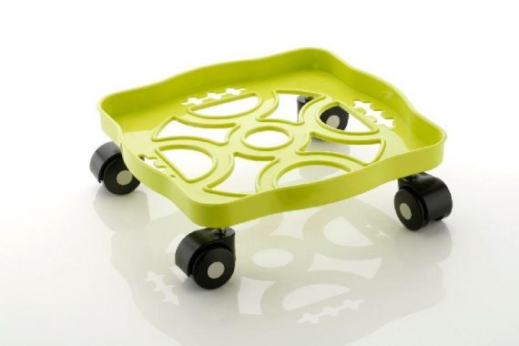 0099 Square Plastic Gas Cylinder Trolley - DeoDap