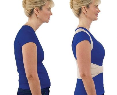0377  Adjustable Royal Posture Back Support Brace Unisex - DeoDap