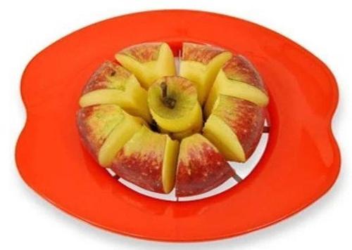 0179 Apple Cutter Stainless Steel Blades Fruit Slicer - DeoDap
