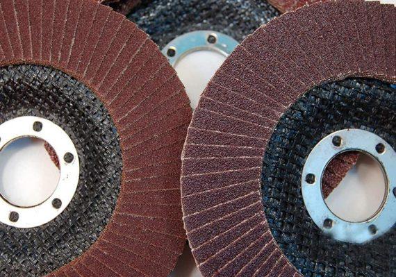 0426 Abrasive Flap Disc Sanding Grinding Wheel, Polishing Wheel Grinding Disc (100 X 16 mm) - DeoDap
