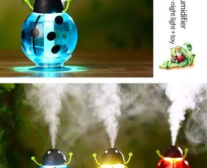 0371 Cute Beatles LED Light Humidifier Air Diffuser Purifier Atomizer Essential oil diffuser difusor de aroma mist maker fogger Gift - DeoDap