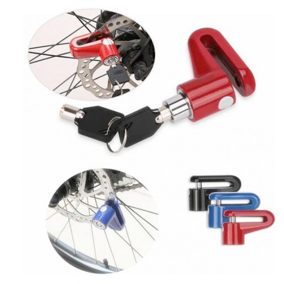 1529 Disc Lock Security for Motorcycles Scooters Bikes - DeoDap