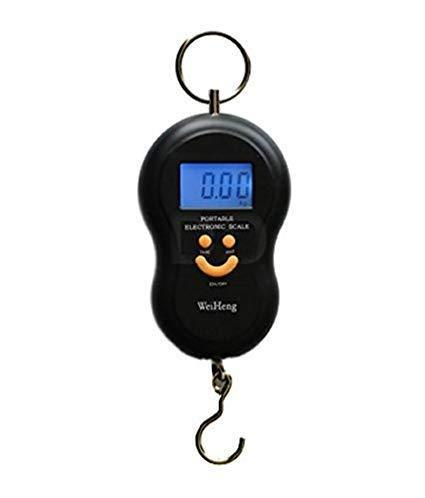 0375 -40Kg 10g Portable Handy Pocket Smile Mini Electronic Digital LCD Weighing Scale - DeoDap